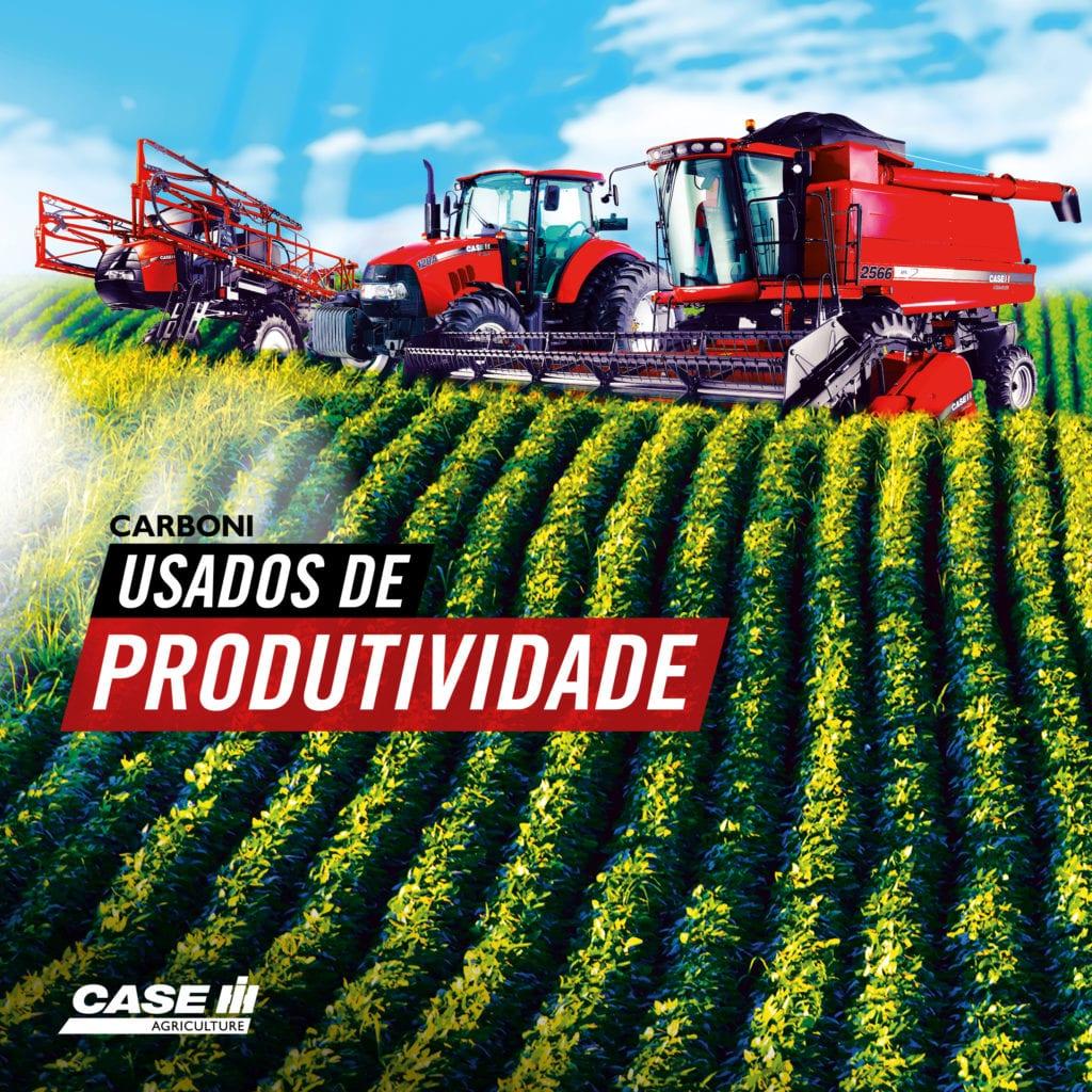 Usados de Produtividade: encontre sua máquina agrícola seminova na Carboni FACE LEADS CASE USADOS DE PRODUTIVIDADE2