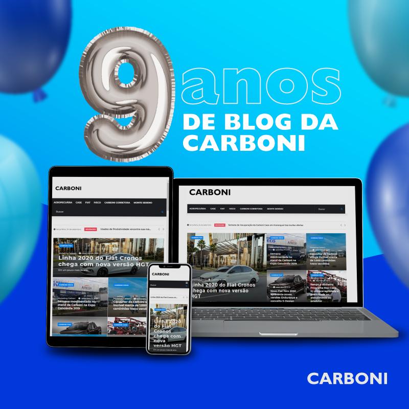 Blog da Carboni está de cara nova! IMAGEM PARABLOG