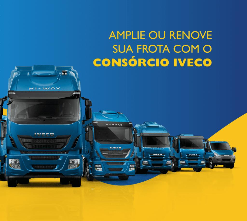Consórcio Iveco é uma ótima opção para ampliar ou renovar frotas CONSORCIO CAMINHAO PARABLOG