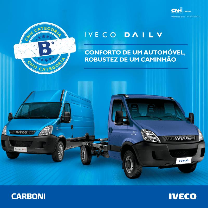 Aproveite as condições imperdíveis para comprar sua Iveco Daily na Carboni post daily3