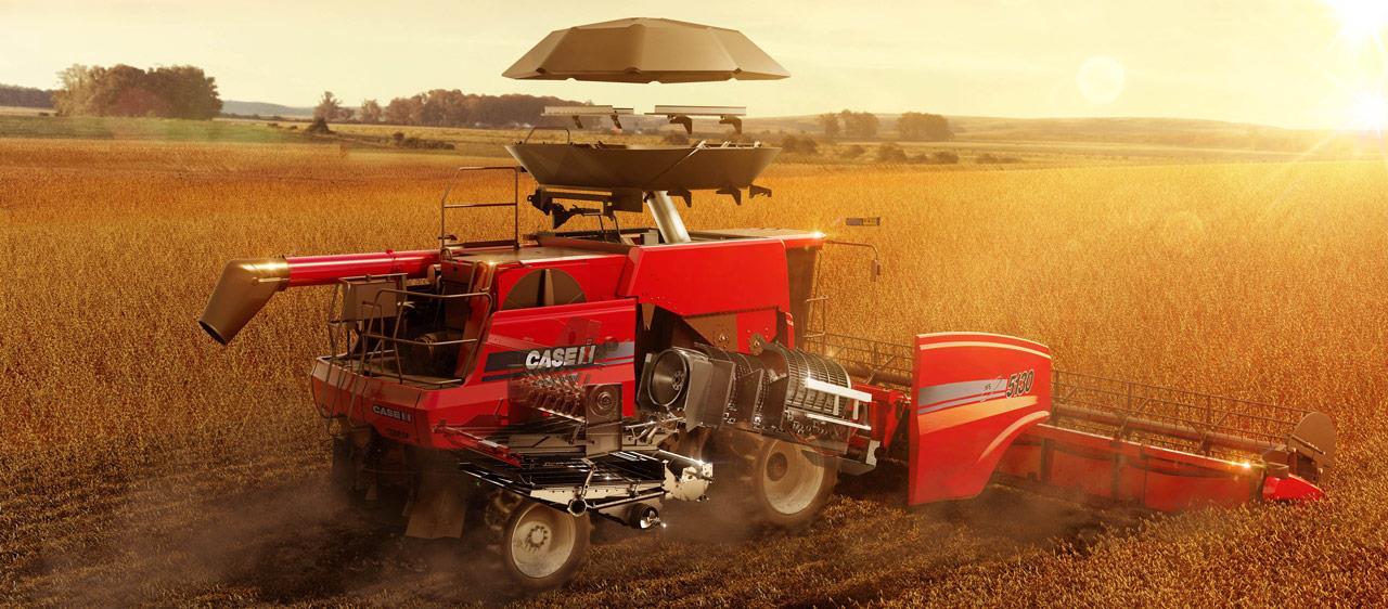 Brasil pode ser um dos maiores produtores mundiais de trigo Axial Flow 5130 dia
