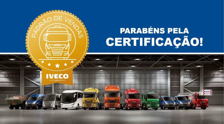 Carboni Iveco de Passo Fundo/RS recebe certificação em vendas ghfgh