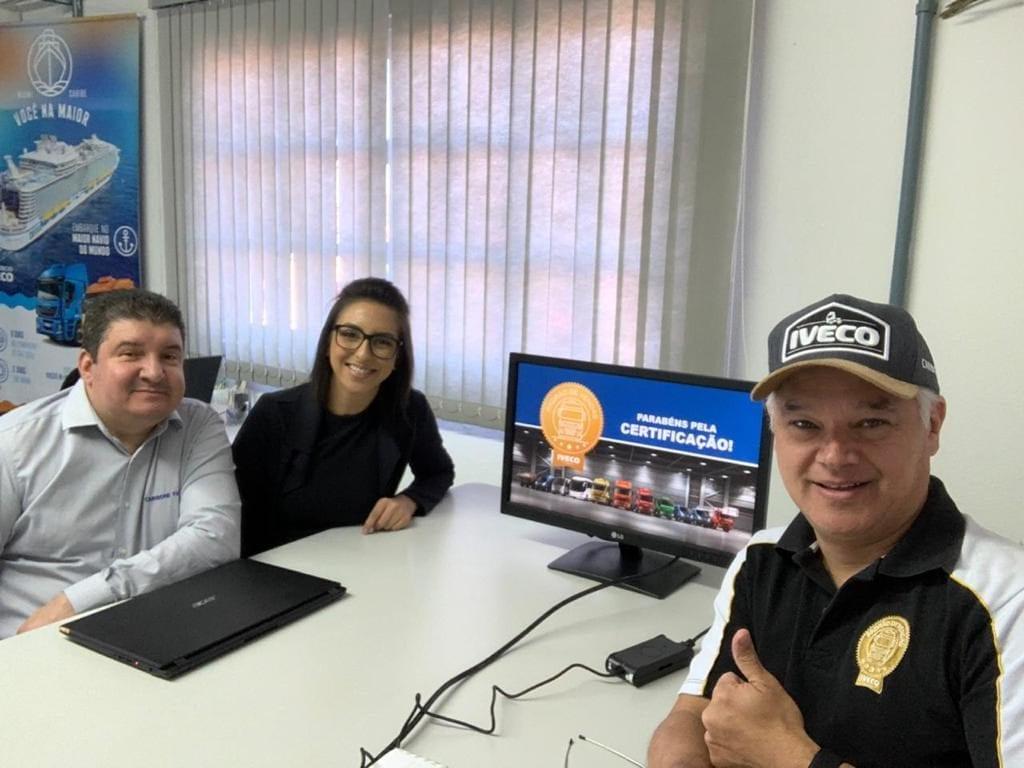 Carboni Iveco de Passo Fundo/RS recebe certificação em vendas WhatsApp Image 2019 10 28 at 08.05.12