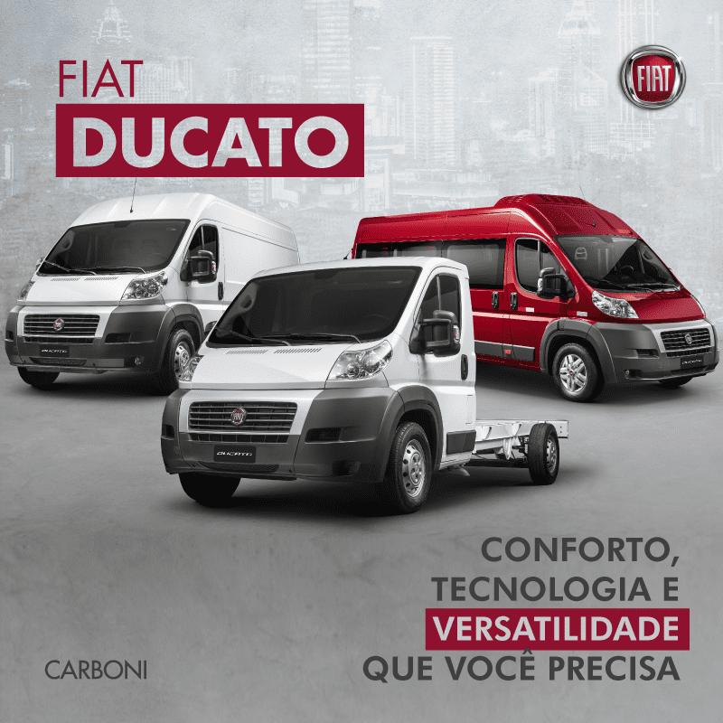 Fiat Ducato e Fiorino: espaço e versatilidade em diferentes segmentos post ducato 1