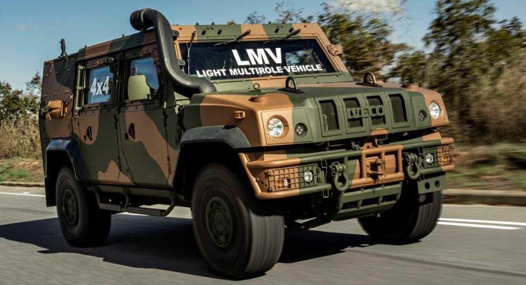 Iveco fornecerá blindado 4x4 ao Exército Brasileiro X noticia 30190