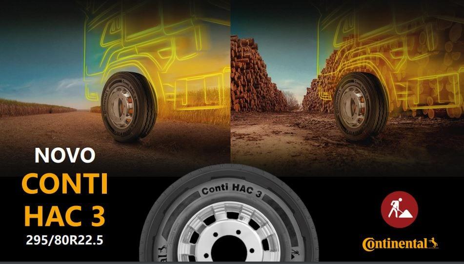 Conheça o novo pneu CONTI HAC 3 para operações severas Capturar