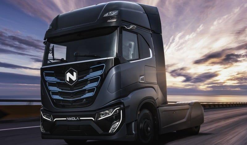 Iveco da CNH Industrial se une à corrida de caminhões elétricos com parceria Nikola nikola tre5a