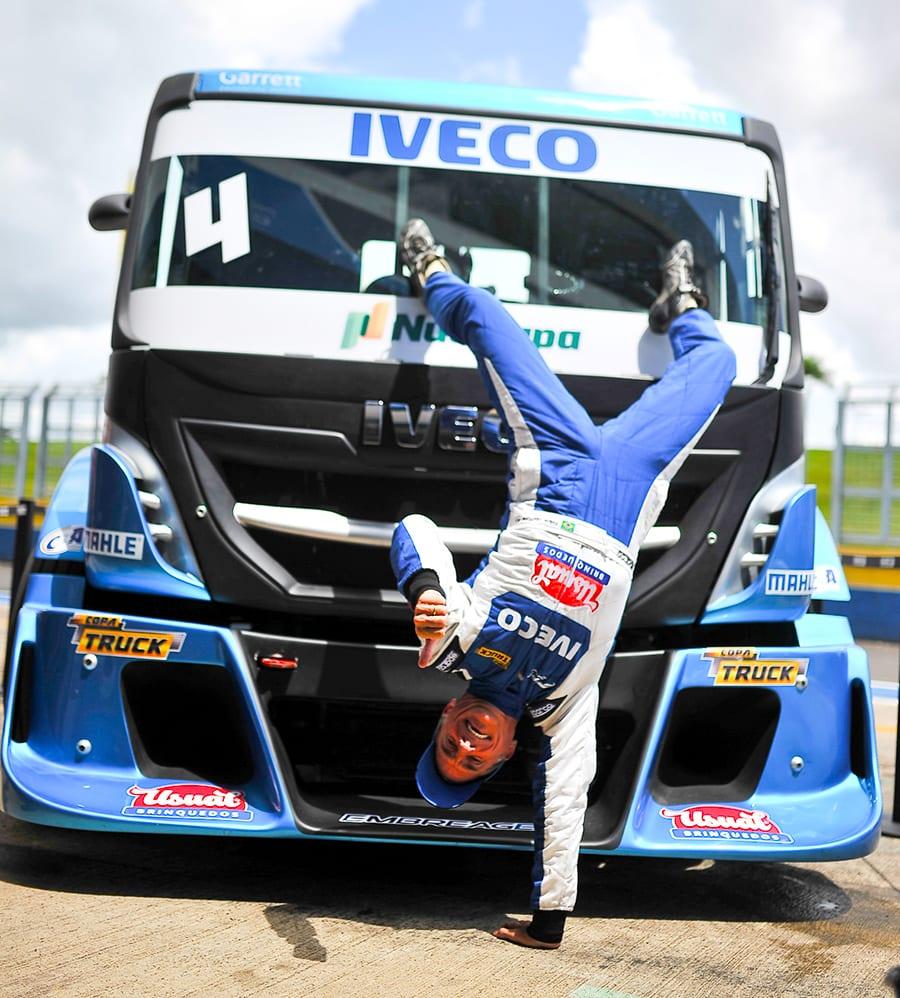 Interlagos é o palco da decisão final da Copa Truck. Iveco de Felipe Giafonne disputa o campeonato. 357244 867517 01 copatruck2019 dudabairros goiania 030900