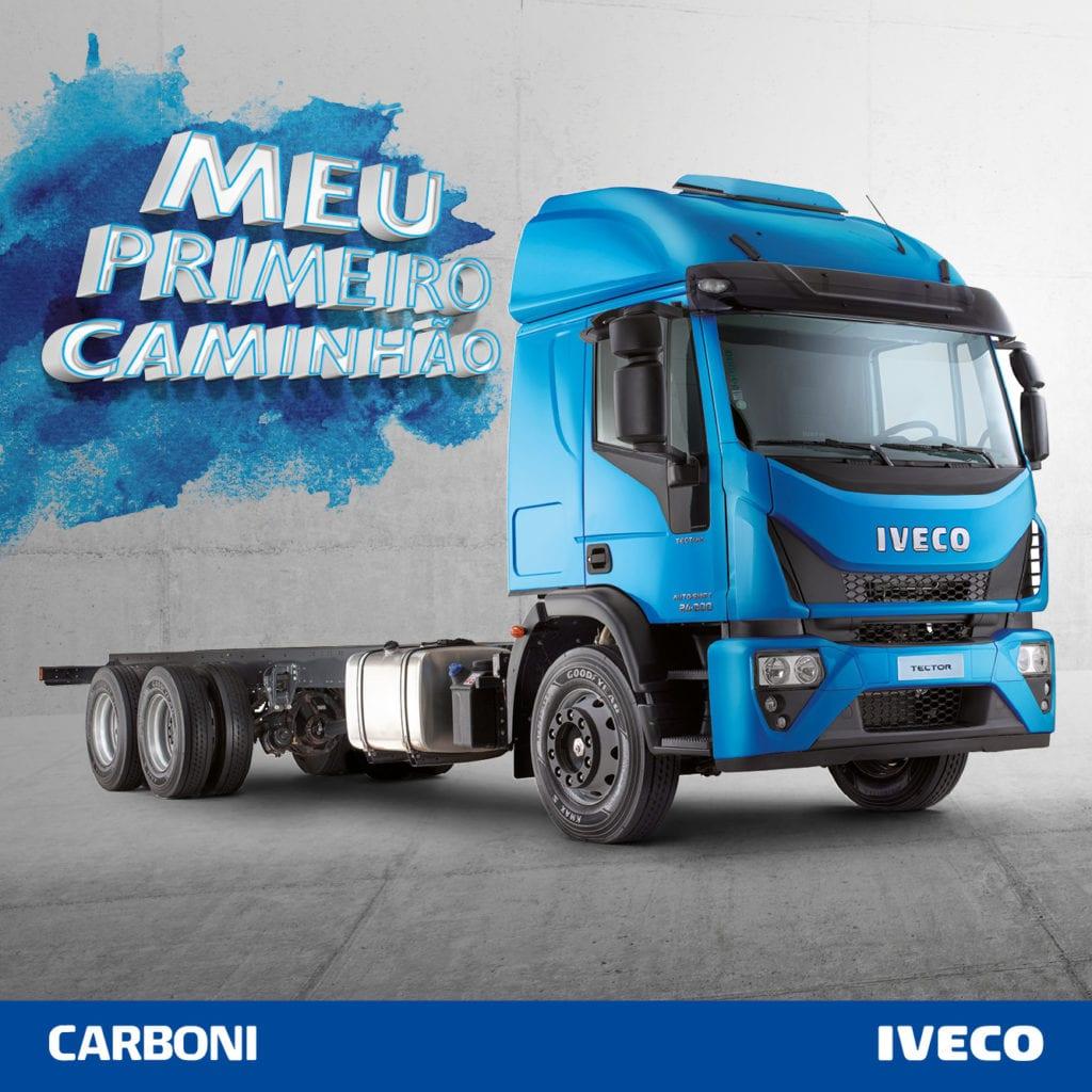 Meu Primeiro Caminhão: como financiar a compra? POSTS FACEBOOK MEU PRIMEIRO CAMINHAO CARBONI IVECO