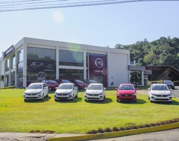 Fiat é líder de emplacamentos em Videira no ano de 2019