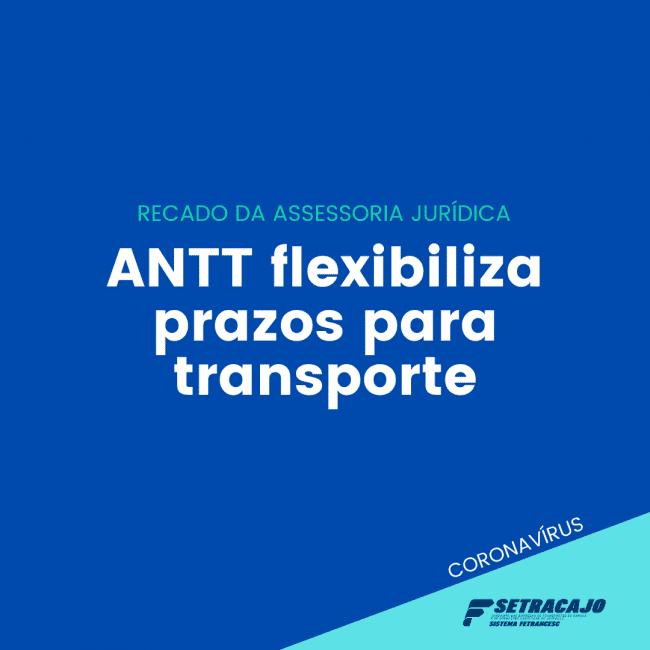 ANTT flexibiliza prazos para transporte Antt flexibiliza prazos setracajo e1585678163428