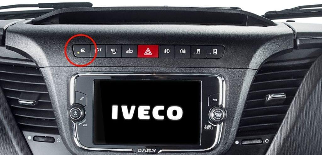 Novo Iveco Daily chegou para melhorar o transporte leve no Brasil bot%C3%A3oEcoSwitch