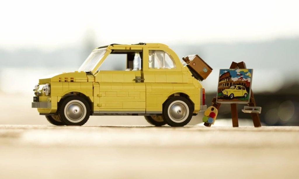 Fiat e Lego lançam miniatura do icônico Fiat 500F Fiat Lego 500 1