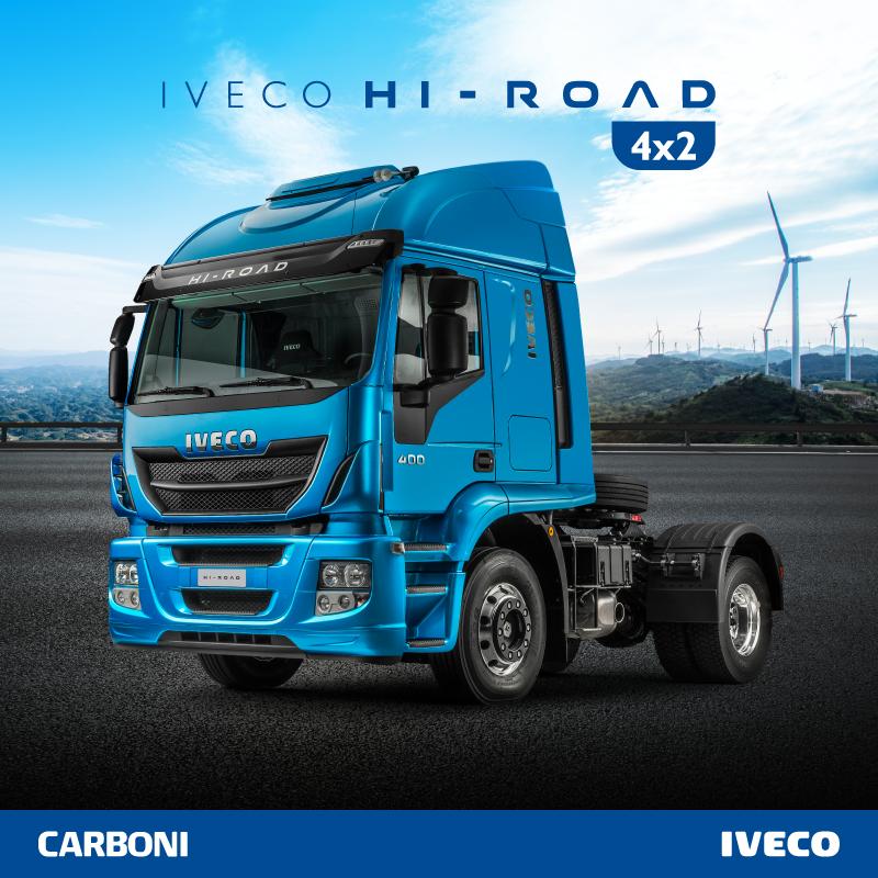 Hi-Road 4X2: robustez, potência e economia a pronta entrega POST HI ROAD 01