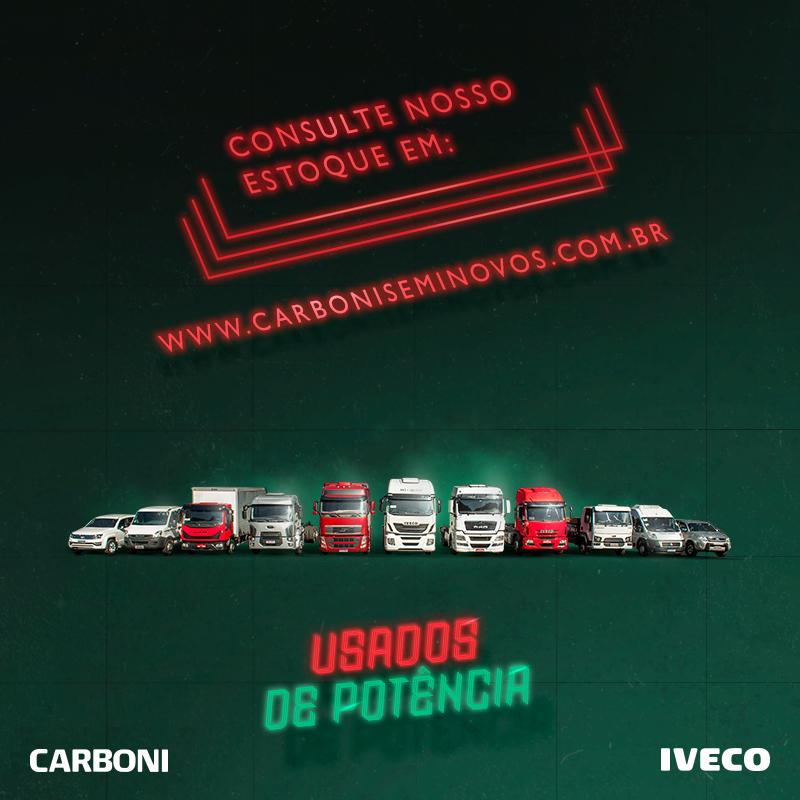 O caminhão usado ideal para o seu negócio está na Carboni Iveco POST 15 USADOS