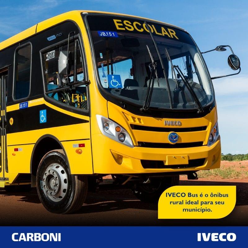 Municípios já podem solicitar ônibus Iveco pelo programa Caminhos da Escola POST IVECO BUS