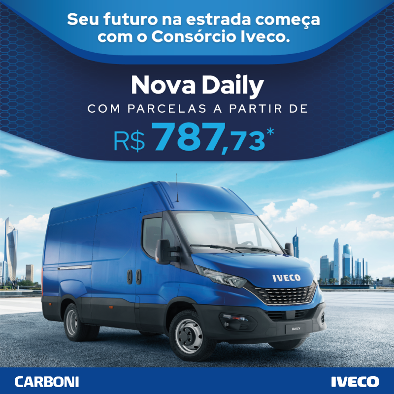Invista na sua empresa com a parcela reduzida do Consórcio Iveco para Daily