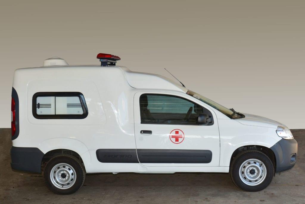FiorinoAmbulancia2 Fiat lança Fiorino Ambulância - Concessionária e Revenda Autorizada Fiat em Santa Catarina, SC | Carboni Fiat
