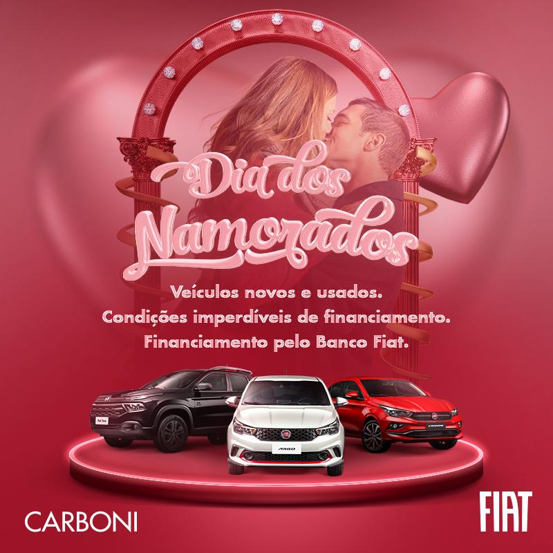 Neste Dia dos Namorados, apaixone-se por um Fiat! DIA OS NAMORADOS FIAT WHATS
