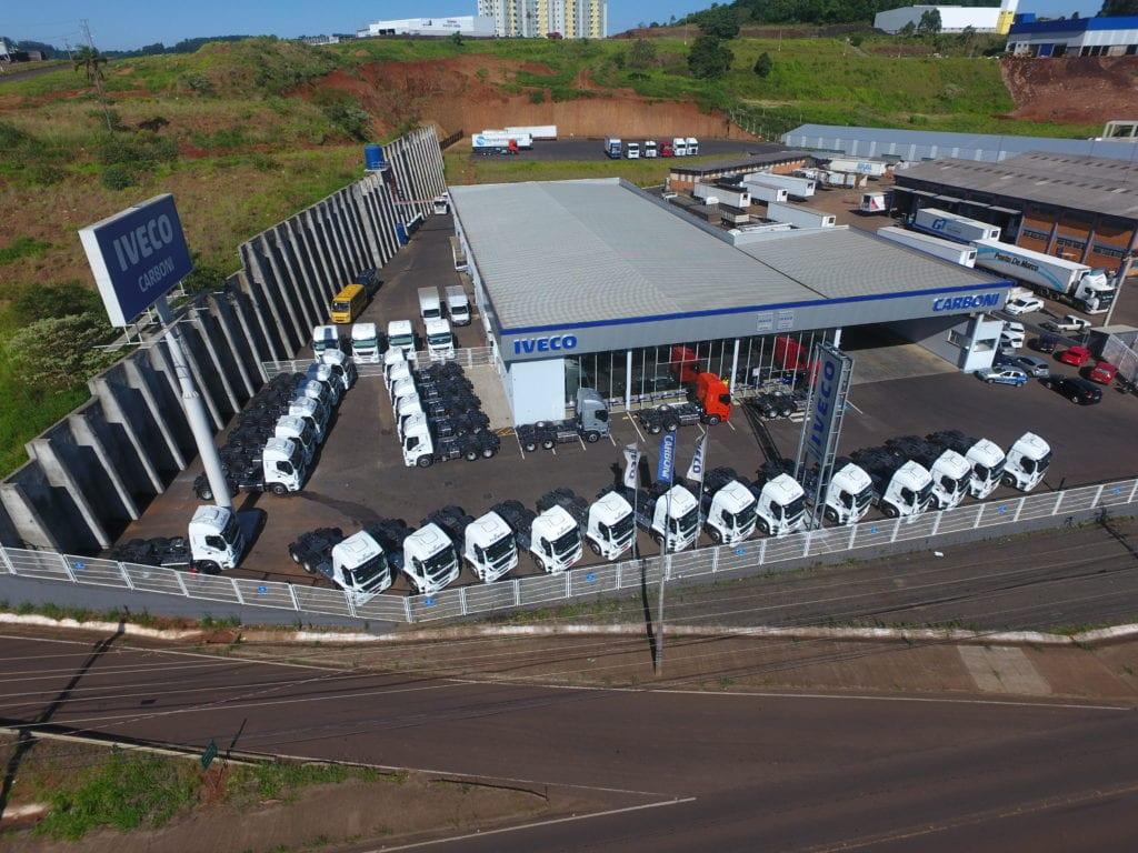Iveco Stralis é o caminhão mais vendido na região de Chapecó em 2020