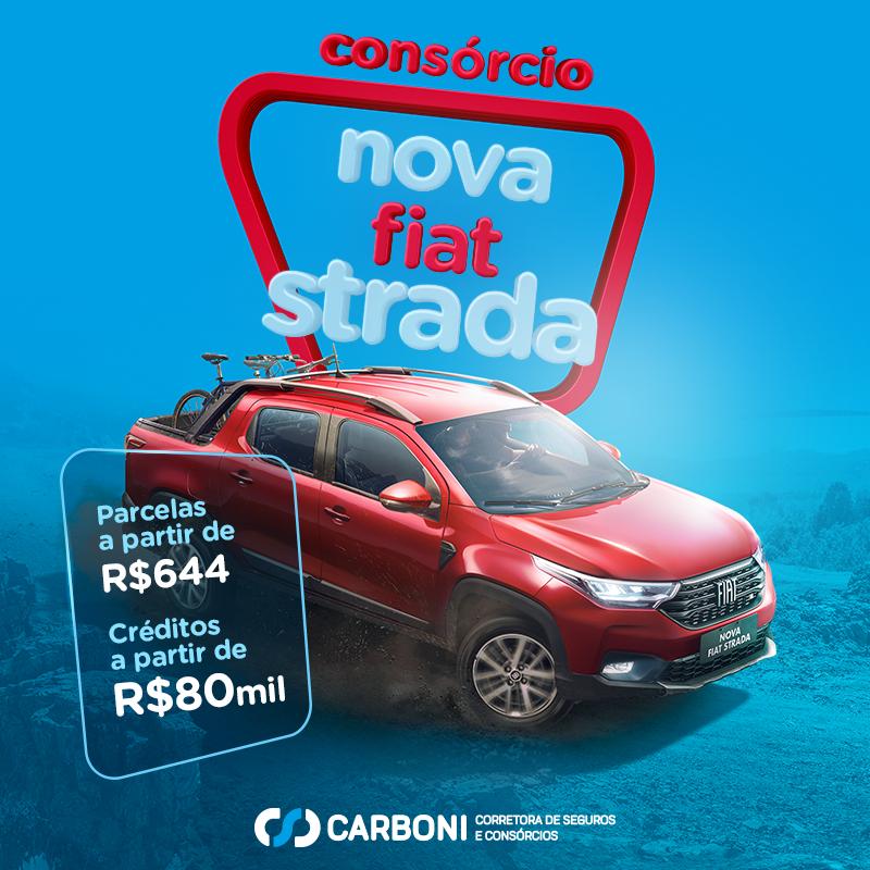 Como comprar a sua nova Fiat Strada 2021 com consórcio na Carboni CORRETORA STRADA POST CONSORCIO Recovered