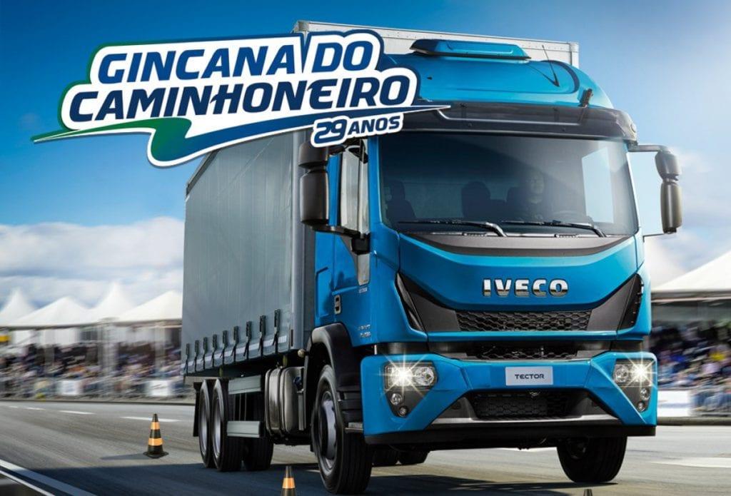 Gincana do caminhoneiro 2020 - Iveco Tector