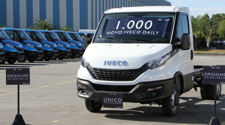 Milésima unidade do Novo Iveco Daily é produzida em Sete Lagoas (MG) Novo IVECO Daily 1000 cr%C3%A9dito MPerez