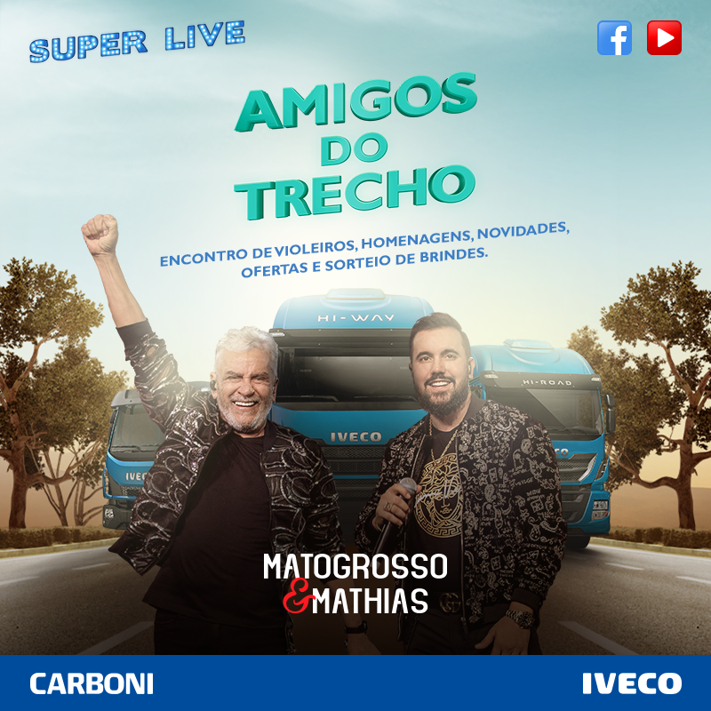 Live Amigos do Trecho - Dia do Colono e Motorista - Matogrosso e Mathias