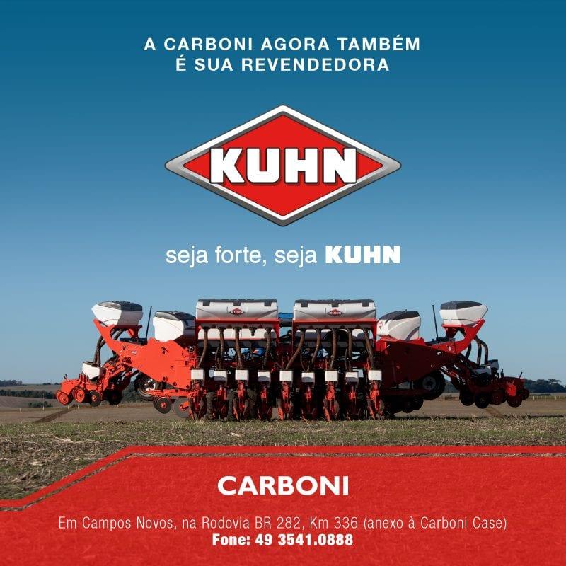 Carboni é revendedora Kuhn