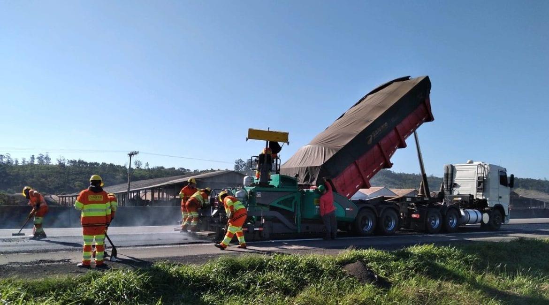 Obras de melhorias podem provocar interdição de pista na BR-101 Sul 2 1