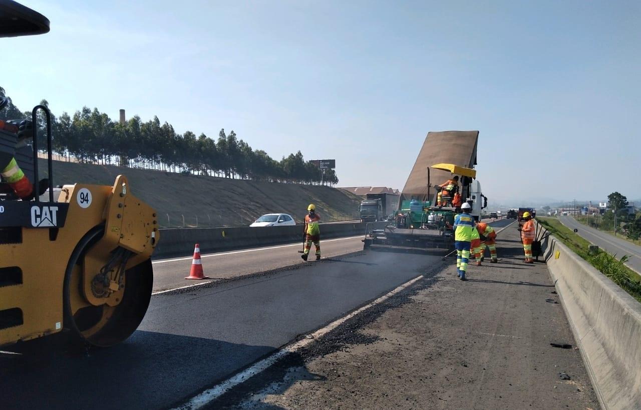 Obras de melhorias podem provocar interdição de pista na BR-101 Sul 1 2