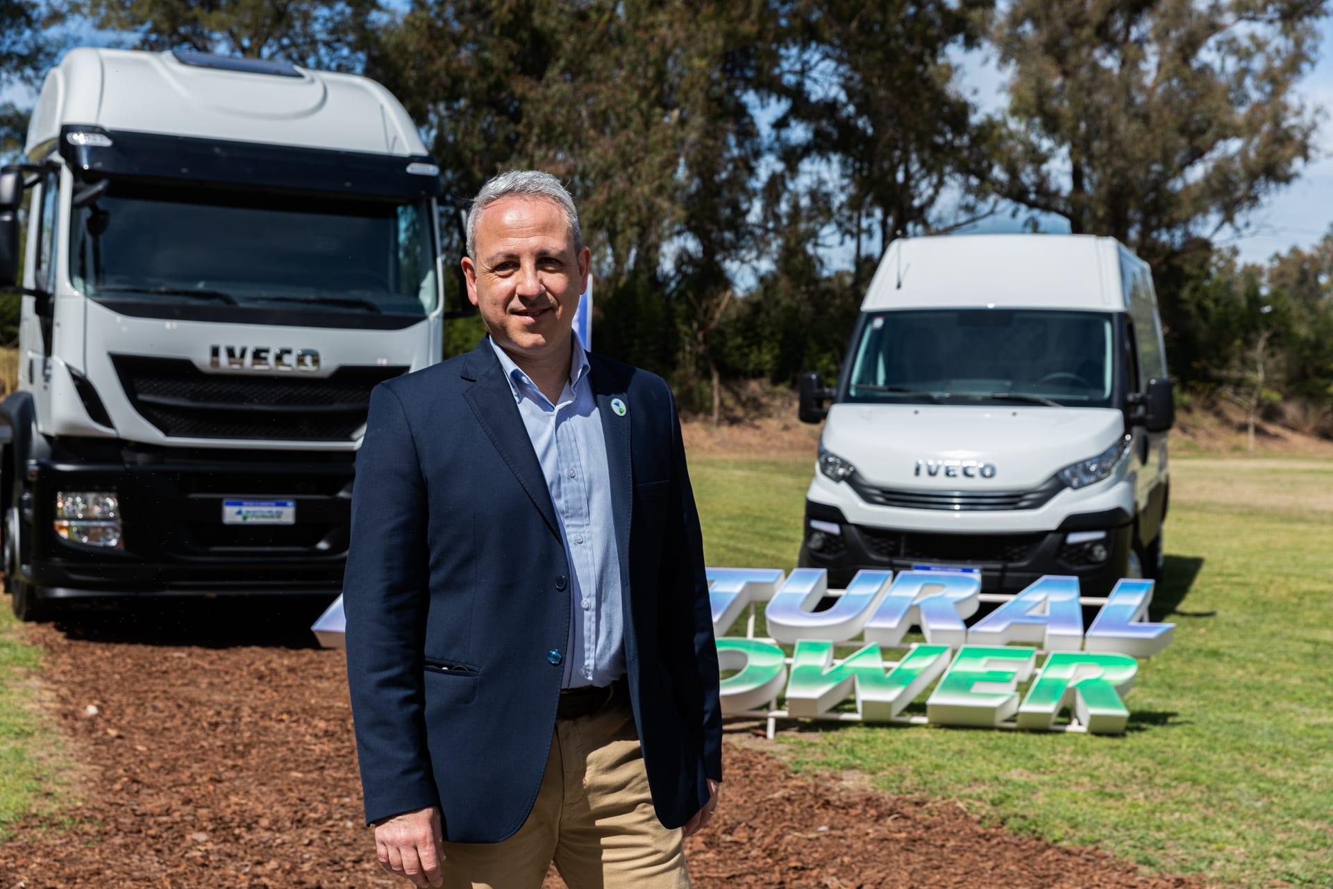 Caminhões a gás Iveco