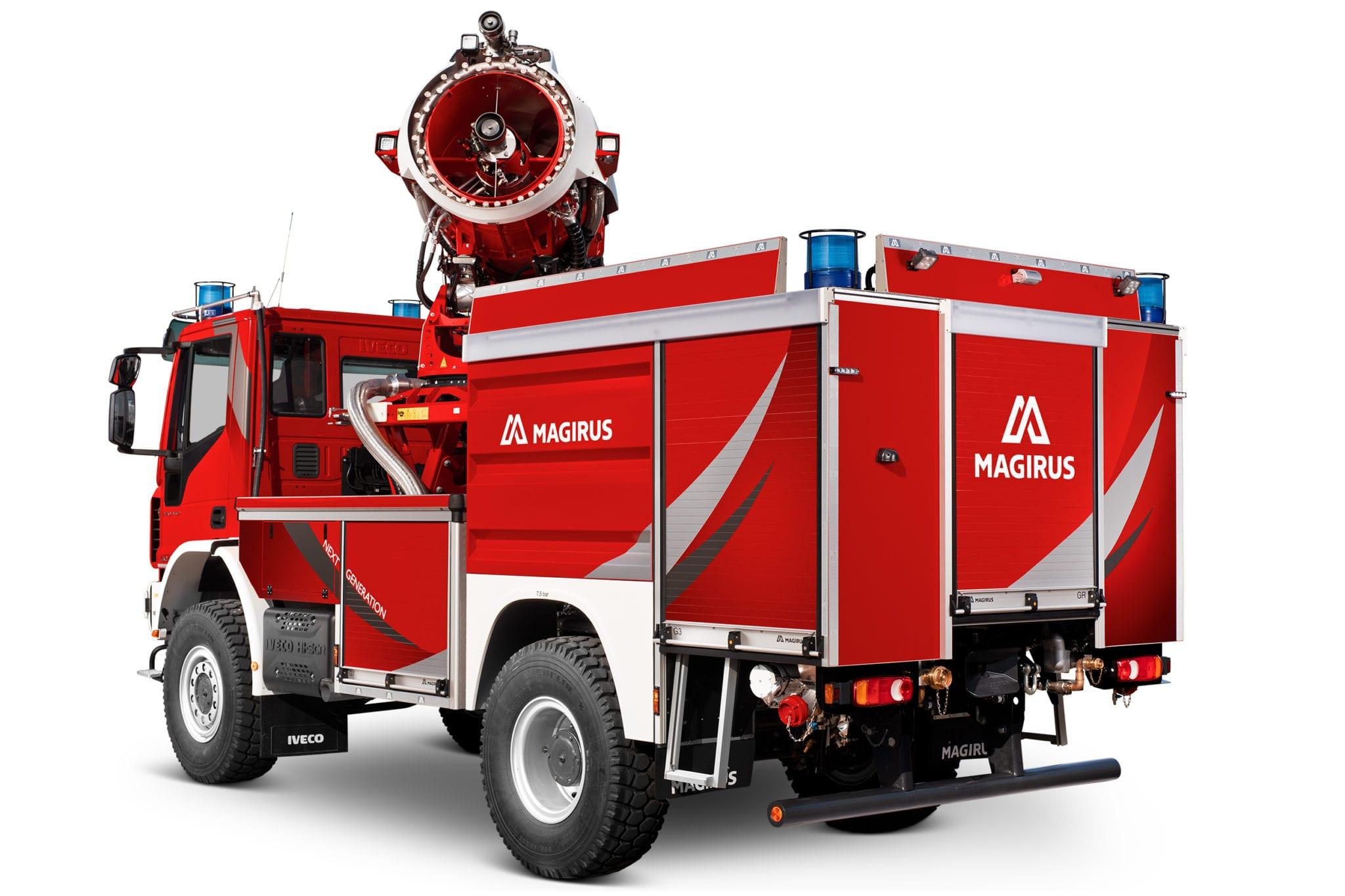 Magirus apresenta TLF AirCore, novo veículo de combate a incêndio