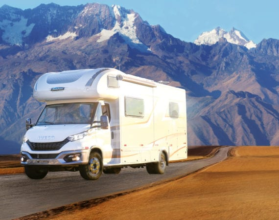Viaje pelo mundo a bordo de um Motorhome com o Daily 70-170!