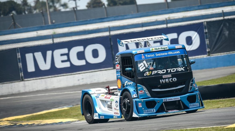 Final da Copa Truck 2020 tem piloto IVECO na busca pelo título IVECO Copa Truck 2020 credito Duda Bairros