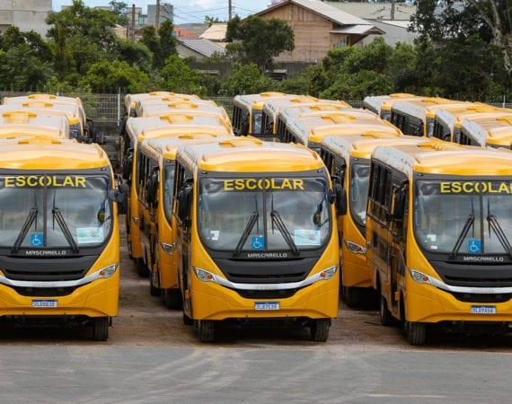 Carboni Iveco entrega mais de 70 ônibus escolares para o Governo de Santa Catarina