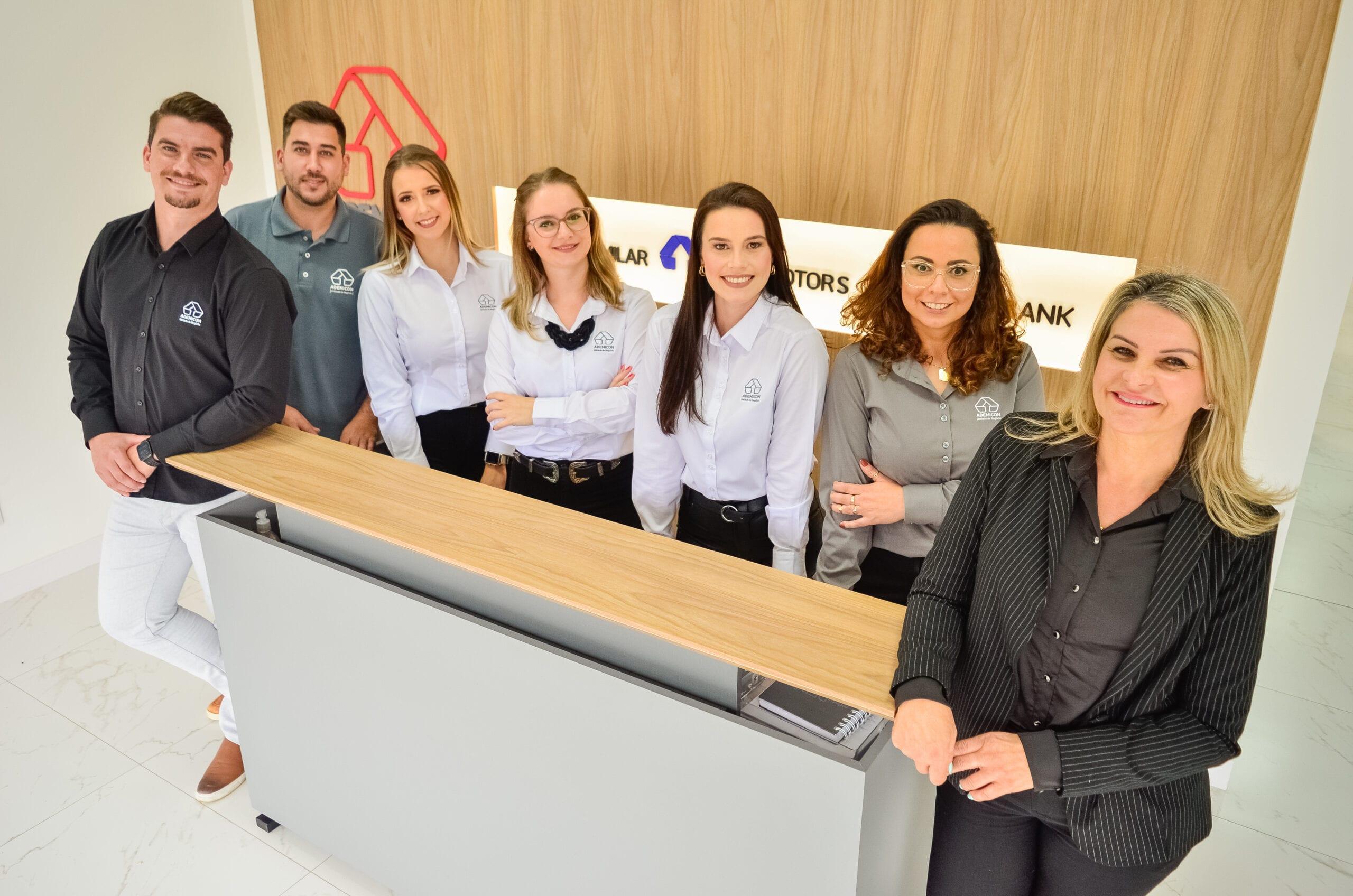 Visite a nova loja da Ademicon em Videira na semana de inauguração DSC4454 scaled