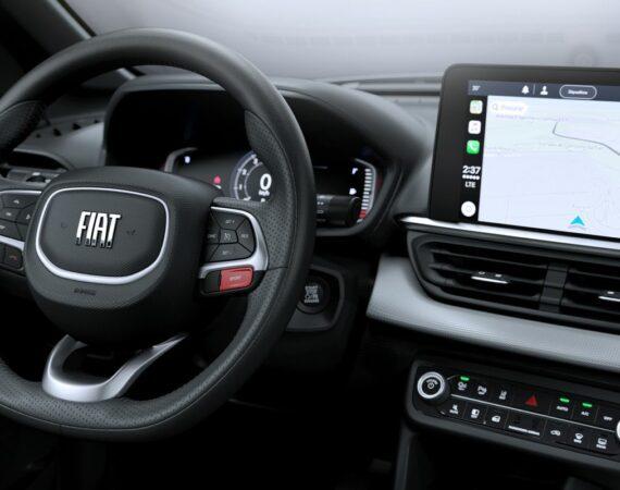 Fiat apresenta interior do novo SUV Pulse