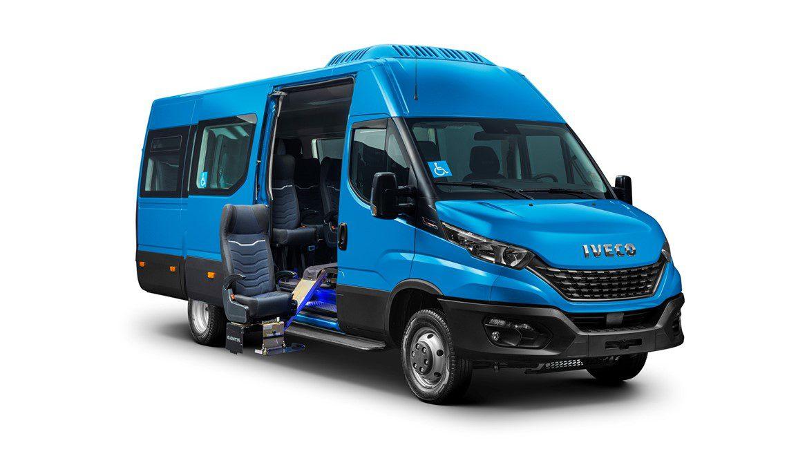 IVECO BUS apresenta novo Daily Minibus para transporte de passageiros com mais versatilidade 590469