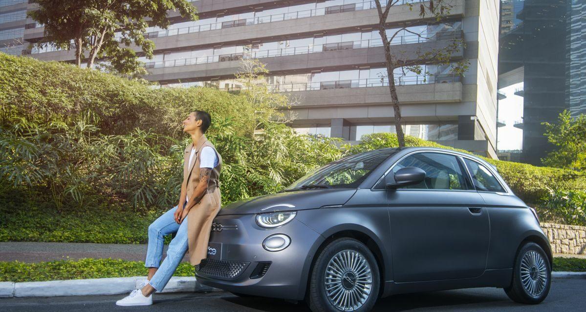 Ícone global da marca, Fiat apresenta a joia de seu portfólio totalmente eletrificada: o 500e