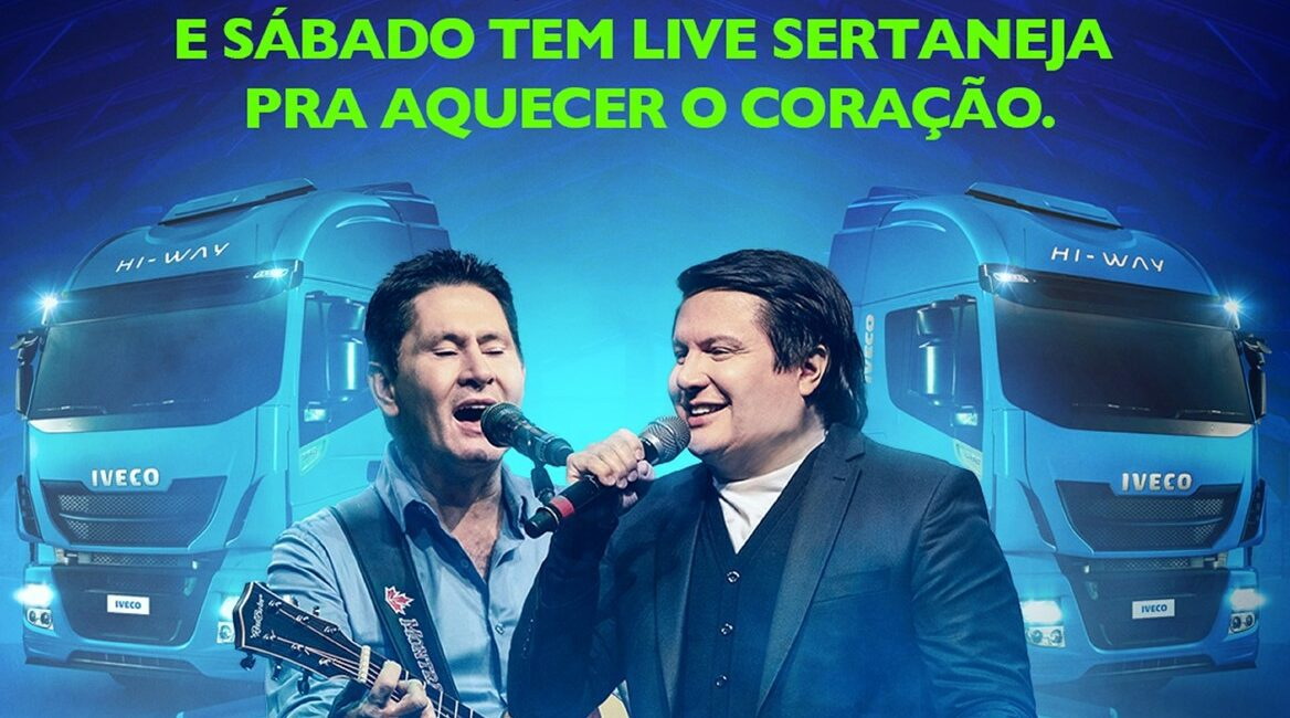 Gian e Giovani participam de live no Complexo Industrial da IVECO em Sete Lagoas (MG) 592368