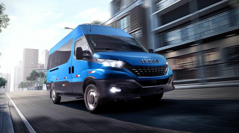 Transporte passageiros com mais segurança e economia no novo Iveco Daily Minibus