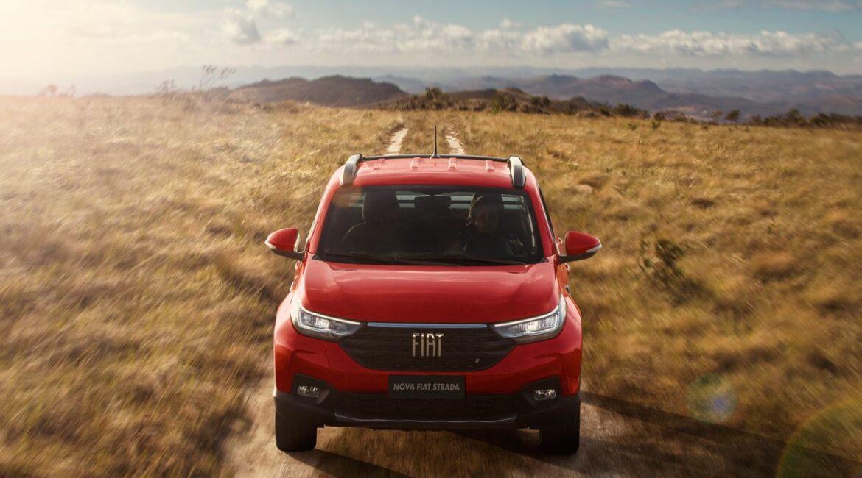Fiat lidera o ranking de vendas no Brasil pelo 8º mês consecutivo NovaFiatStrada medium