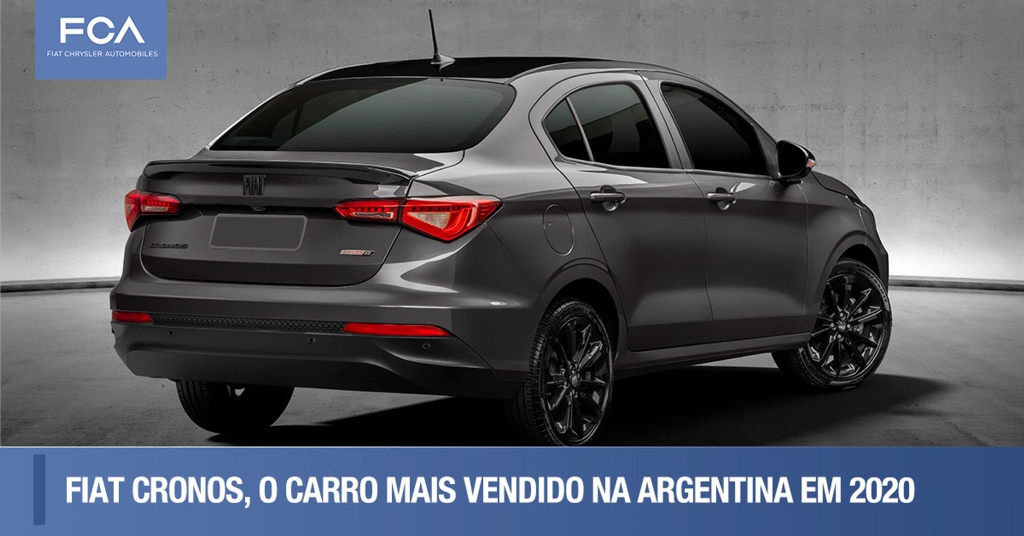 FCA lidera mercado brasileiro e latino-americano de automóveis e comerciais leves em 2020