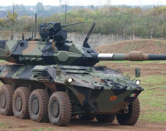 Iveco irá fornecer 86 blindados Centauro para o Exército da Itália