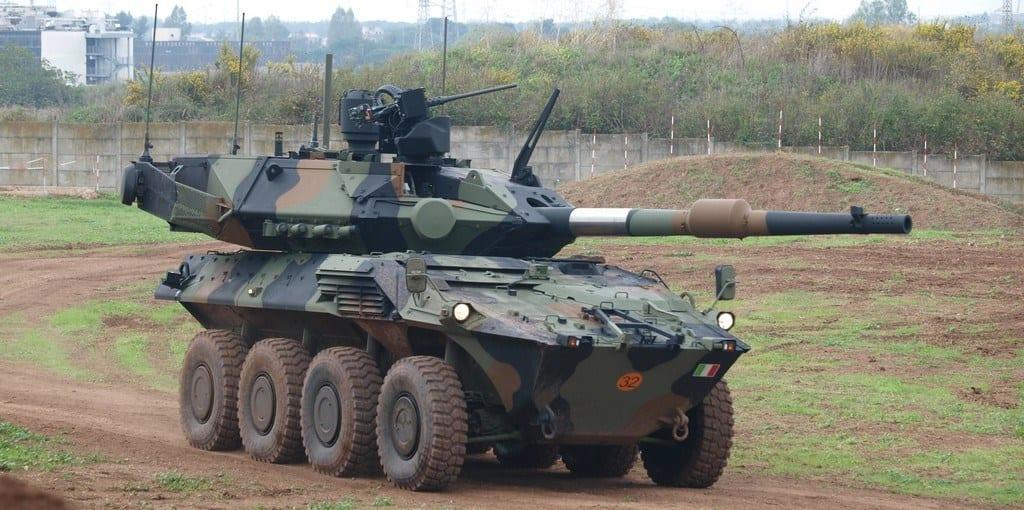 Iveco irá fornecer 86 blindados Centauro para o Exército da Itália Centauro II EDR 03 2
