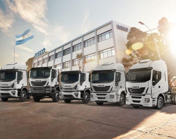 Iveco lidera mercado de caminhões pesados na Argentina