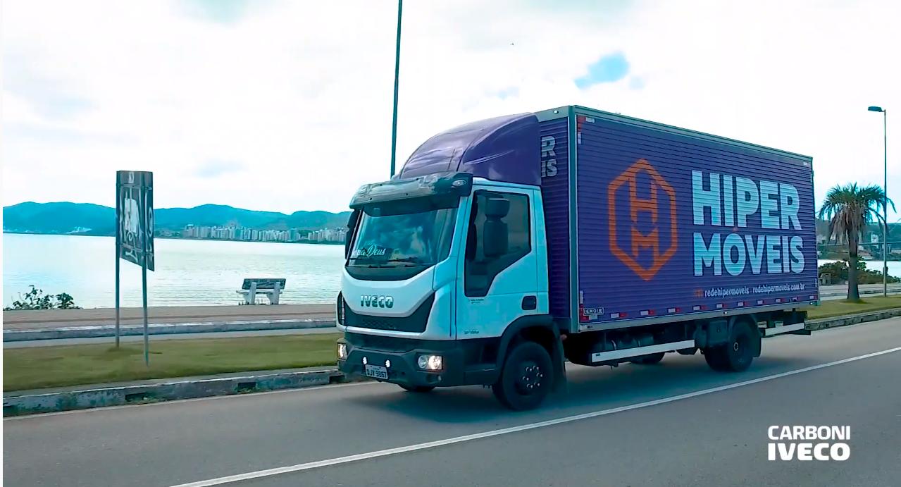 Hiper Móveis conta com frota Iveco Tector para fazer entregas urbanas