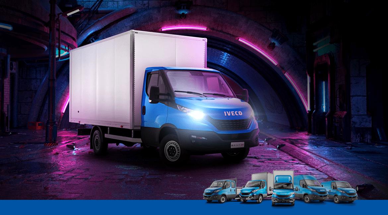 Suas entregas urbanas ficam ainda mais ágeis com a nova Iveco Daily City 30-130