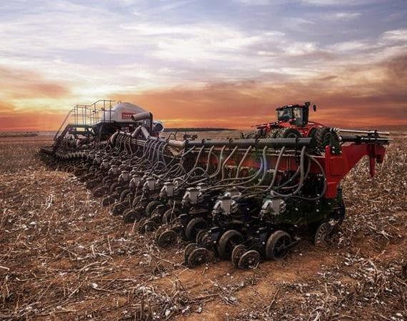 Projetada no Brasil, plantadeira da Case IH recebe prêmio internacional de inovação